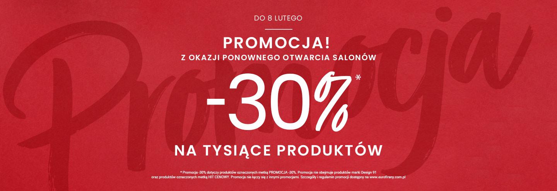 Eurofirany: 30% zniżki na tysiące produktów - dekoracje i wystrój okien