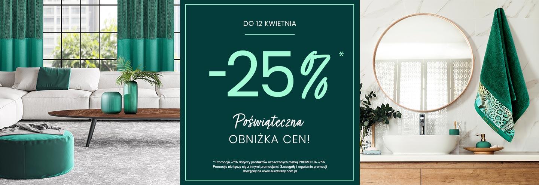 Eurofirany: 25% rabatu na wybrane produkty - poświąteczna obniżka cen