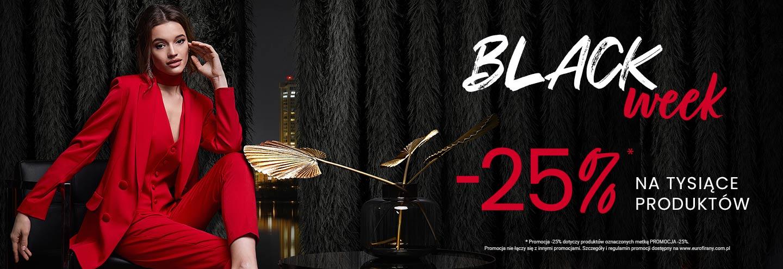 Eurofirany: Black Week 25% zniżki na firany, zasłony, pościel, narzuty, obrusy i bieżniki, koce