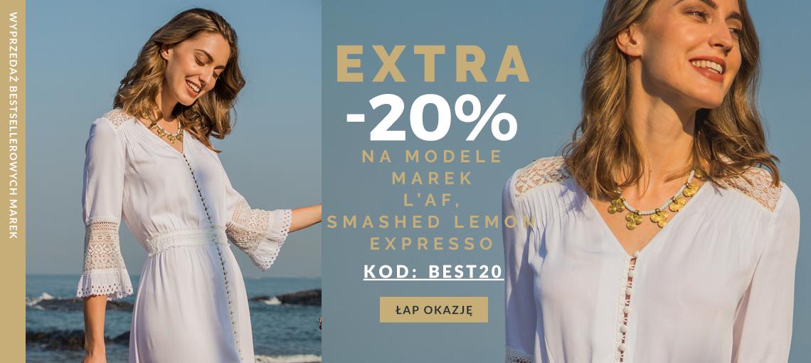 Eye for fashion: extra 20% zniżki na odzież damską wybranych marek                         title=