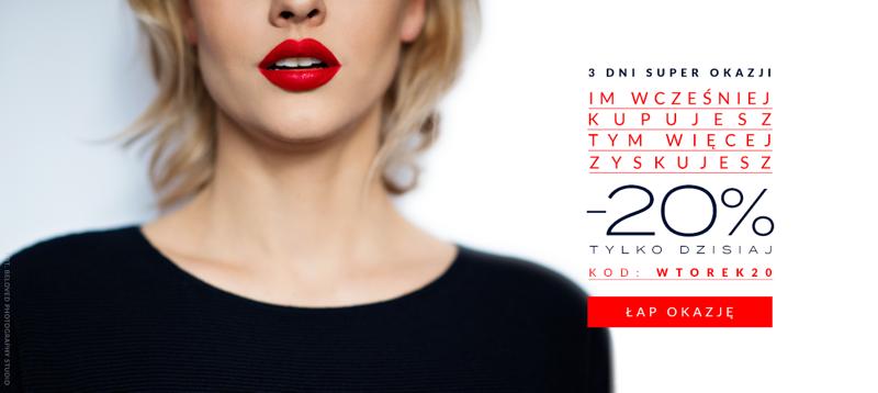Eye for fashion: 20% zniżki na odzież dla kobiet