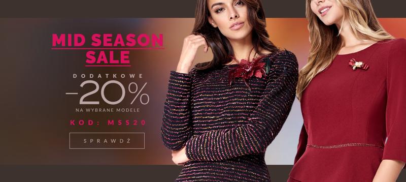 Eye for fashion: wyprzedaż 20% rabatu na modną odzież damską
