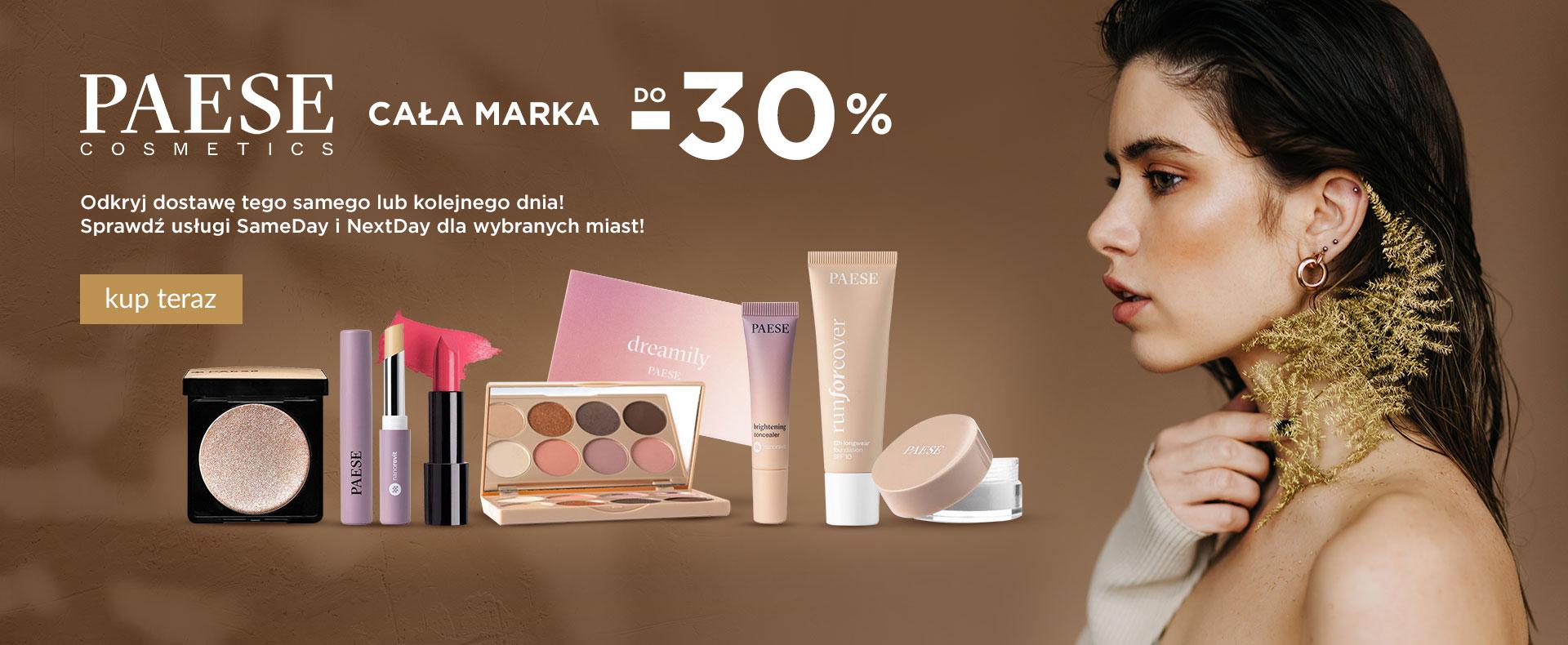 Ezebra: do 30% zniżki na kosmetyki marki Paese