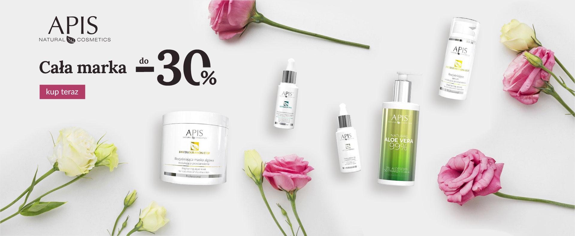 Ezebra: do 30% zniżki na kosmetyki marki Apis