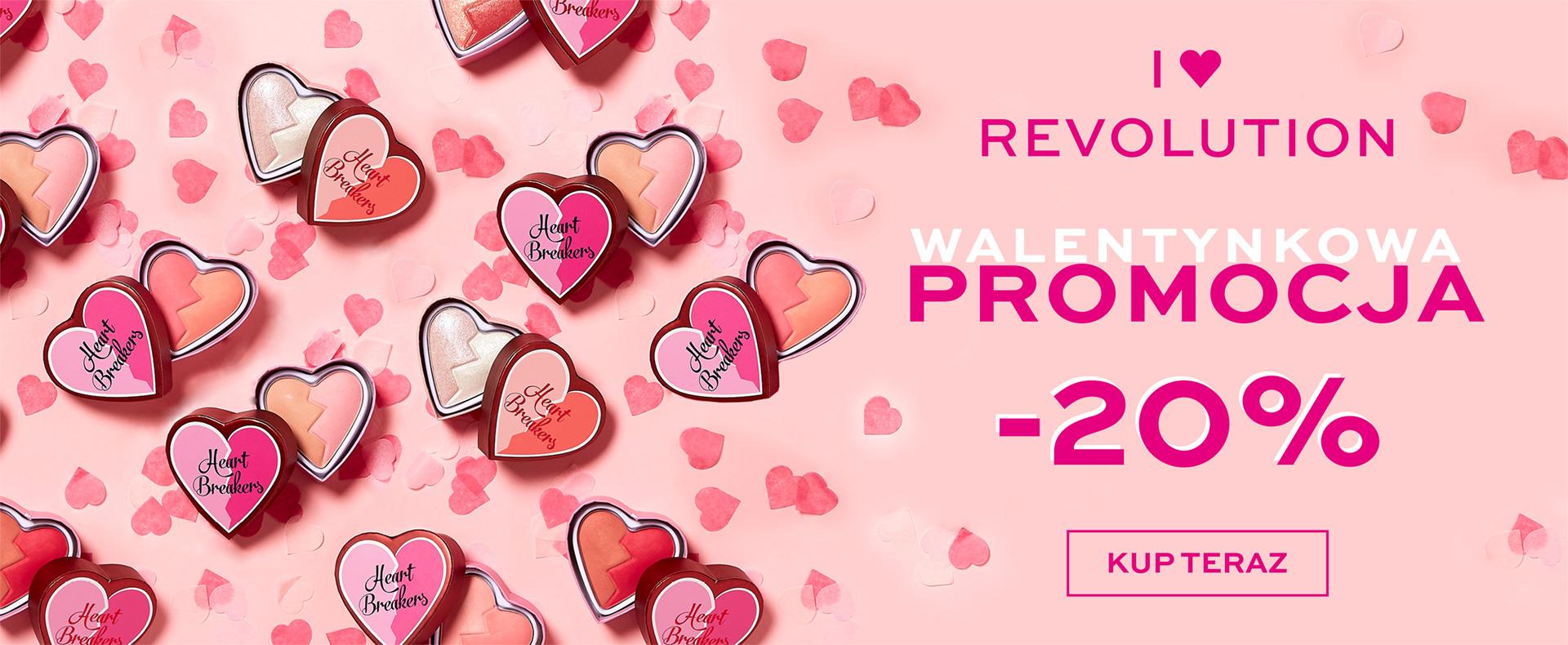 Ezebra: 20% rabatu na kosmetyki marki I Love Revolution