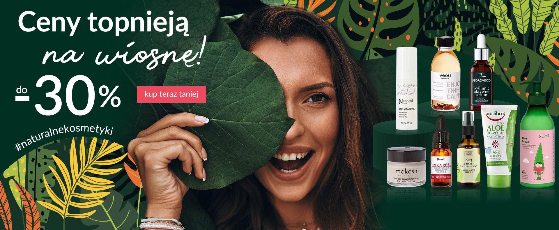Ezebra Ezebra: do 30% rabatu na kosmetyki naturalne wielu marek