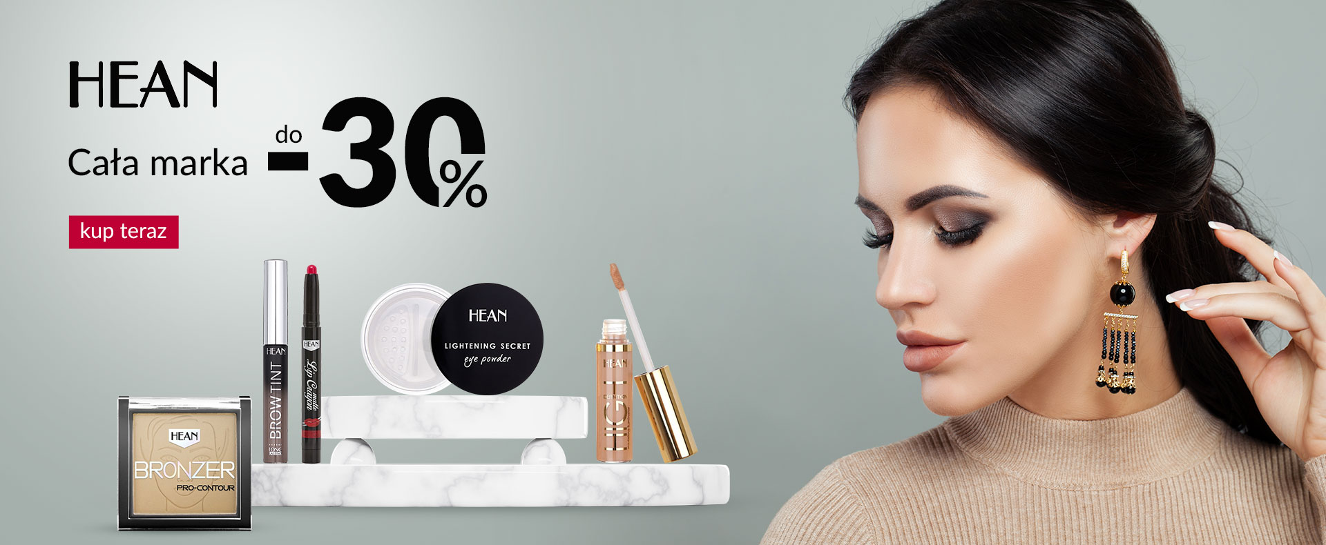 Ezebra: do 30% rabatu na kosmetyki marki Hean