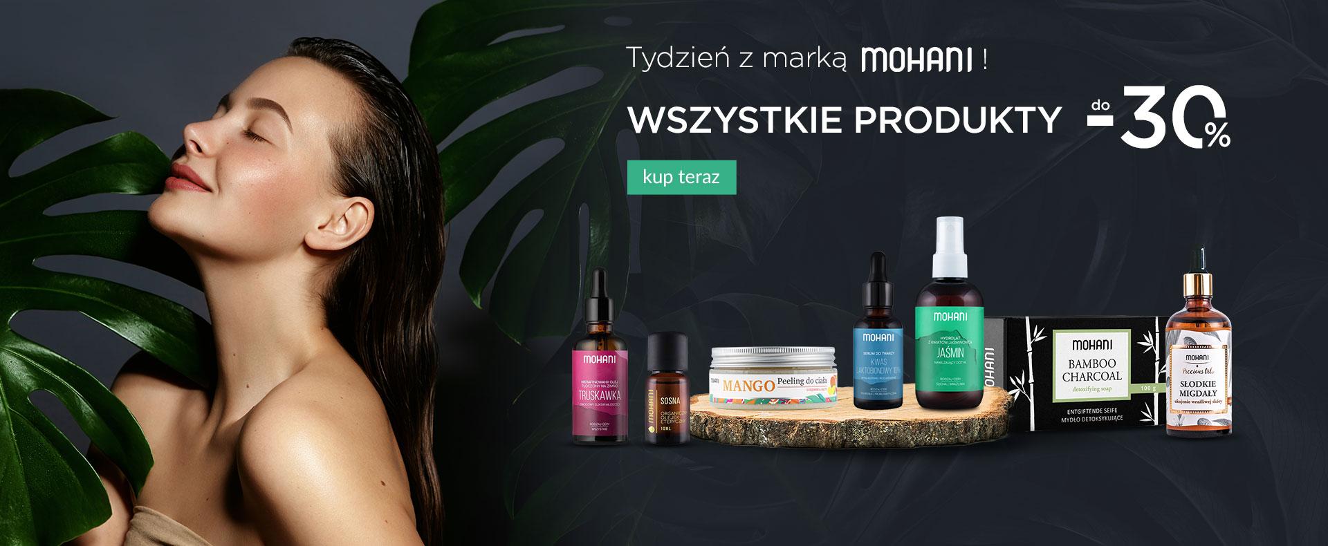 Ezebra: do 30% rabatu na kosmetyki marki Mohani
