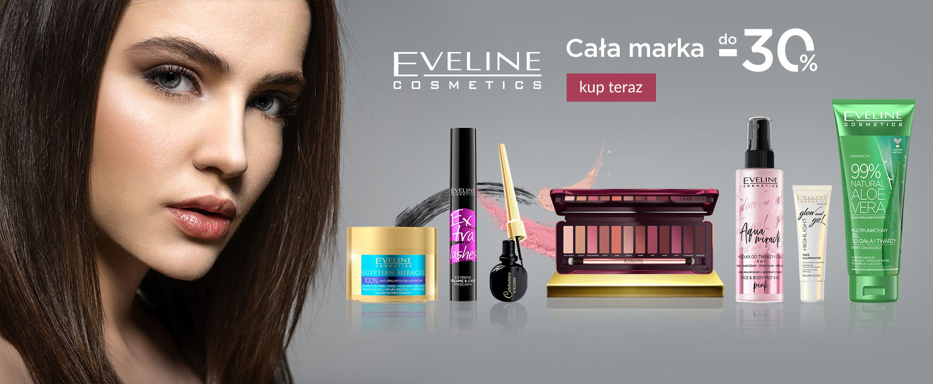 Ezebra: do 30% rabatu na kosmetyki marki Eveline Cosmetics