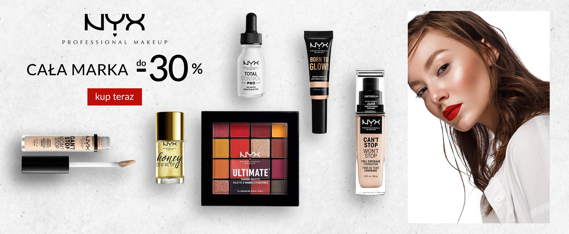 Ezebra: do 30% zniżki na kosmetyki marki NYX