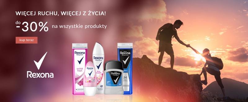 Ezebra: do 30% rabatu na kosmetyki marki Rexona                         title=