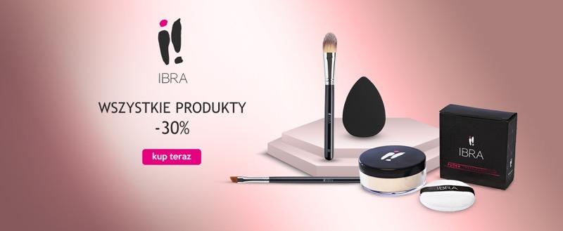 Ezebra: 30% zniżki na produkty do makijażu marki Ibra