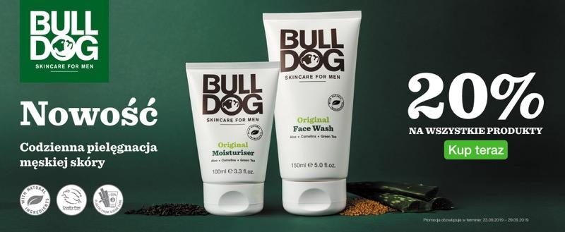 Ezebra: 20% rabatu na kosmetyki męskie marki BullDog