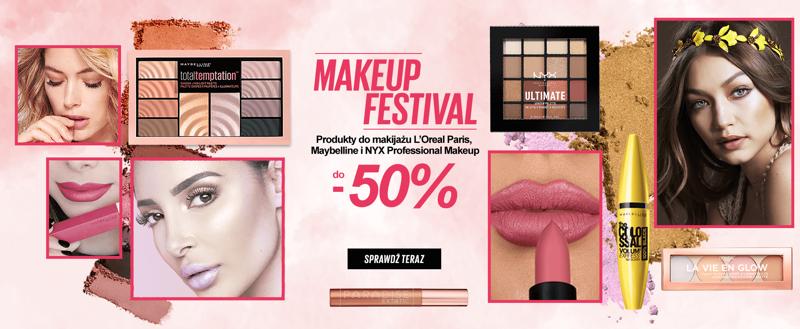 Ezebra: do 50% zniżki na produkty do makijażu L'Oreal Paris, Maybelline i NYX Professional Make up                         title=