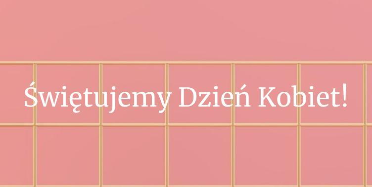 Fabryka Form: 10% zniżki na produkty w kolorach biel, róż i złoto - promocja na Dzień Kobiet