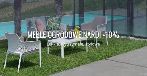 Fabryka Form Fabryka Form: 10% rabatu na meble ogrodowe marki Nardi