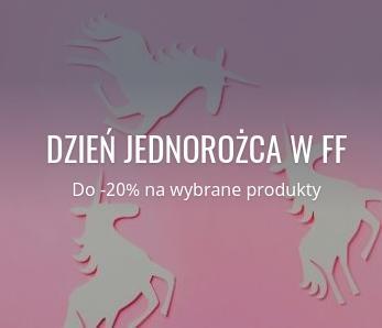 Fabryka Form: do 20% zniżki na wybrane produkty - dzień jednorożca