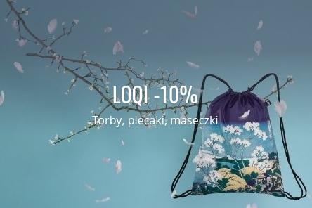 Fabryka Form: 10% zniżki na torby, plecaki i maseczki marki Loqi
