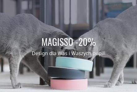 Fabryka Form Fabryka Form: 20% rabatu na produkty dla zwierząt marki Magisso