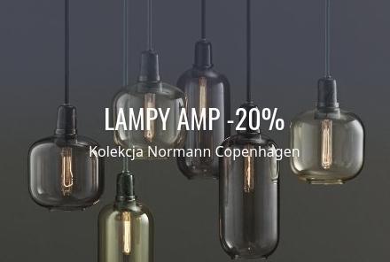 Fabryka Form Fabryka Form: 20% zniżki na lampy AMP z kolekcji Normann Copenhagen
