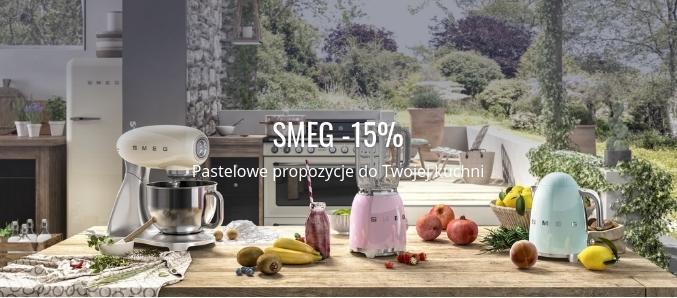 Fabryka Form: promocja 15% zniżki na produkty do kuchni marki SMEG