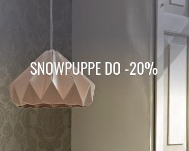 Fabryka Form: do 20% zniżki na lampy marki Snowpuppe