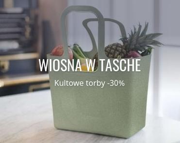 Fabryka Form: 30% zniżki na kultowe torby Tasche marki koziol