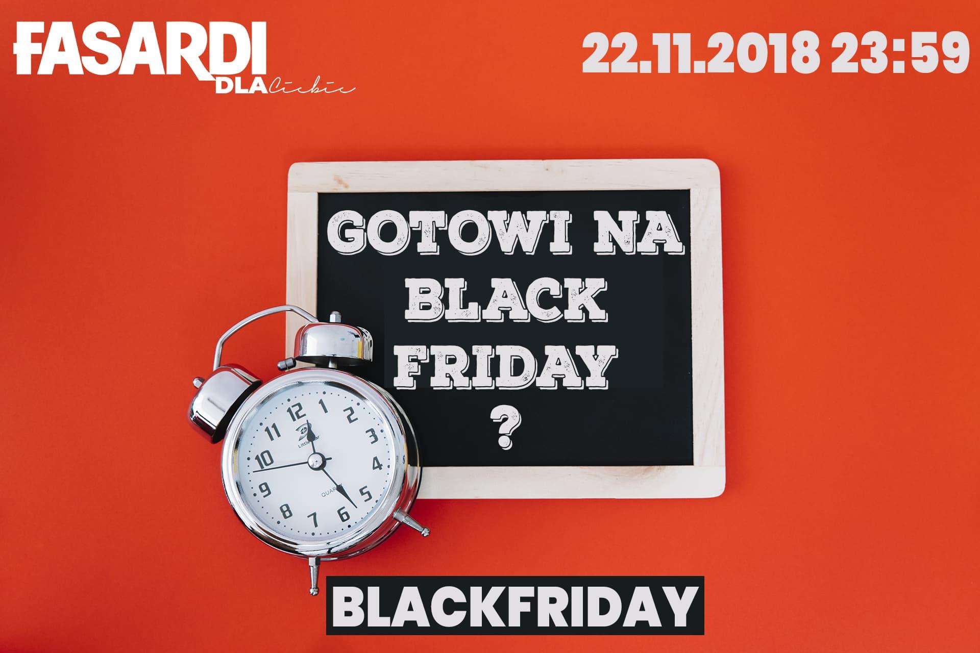 Black Friday Fasardi: 25% rabatu na odzież damską, męską oraz dziecięcą                         title=
