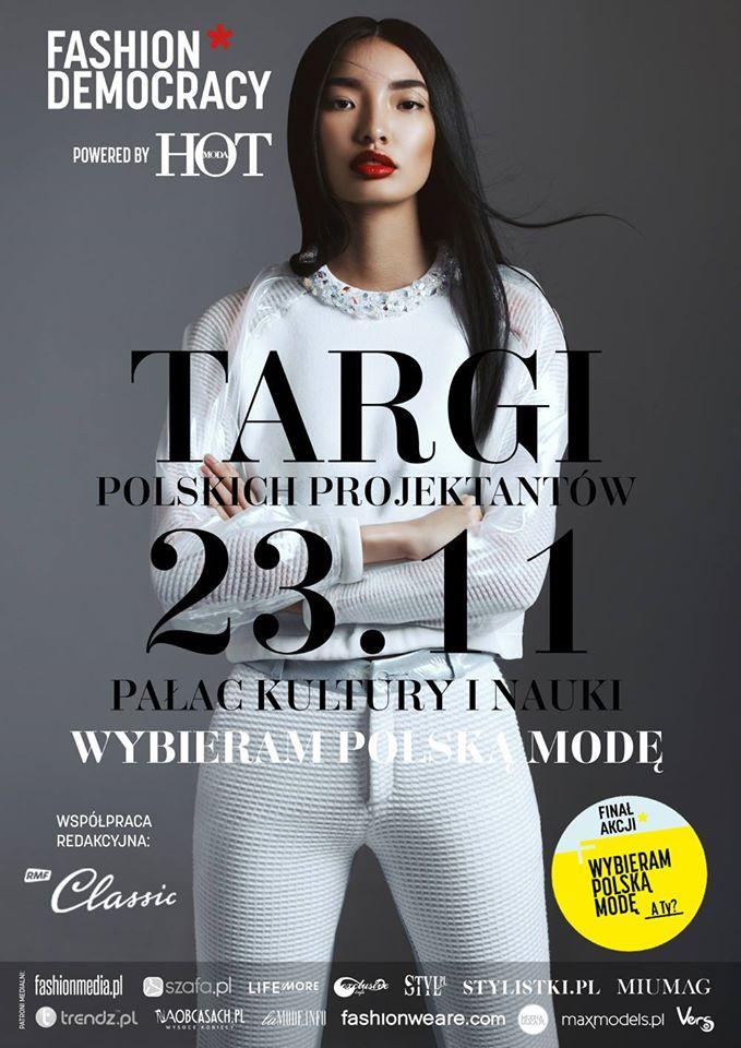 Targi Mody Fashion Democracy 23 listopada 2014