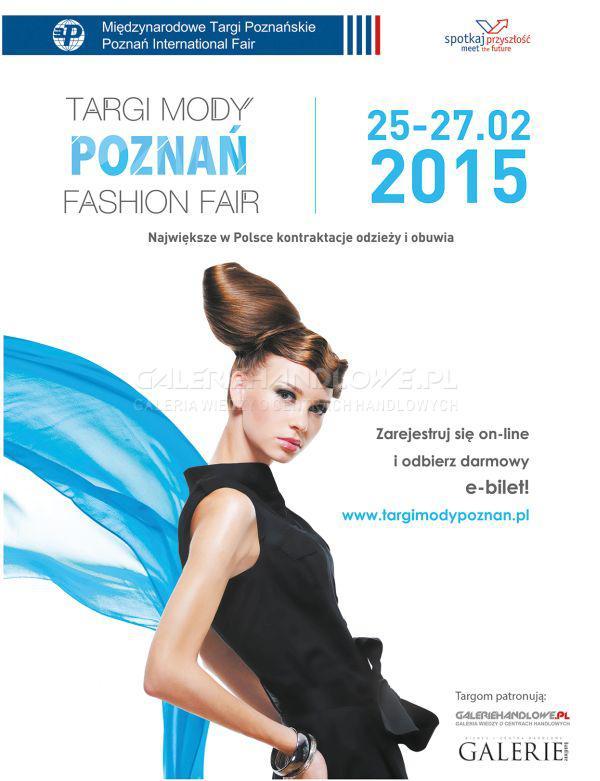 Targi Mody w Poznaniu 25-27 lutego 2015                          title=