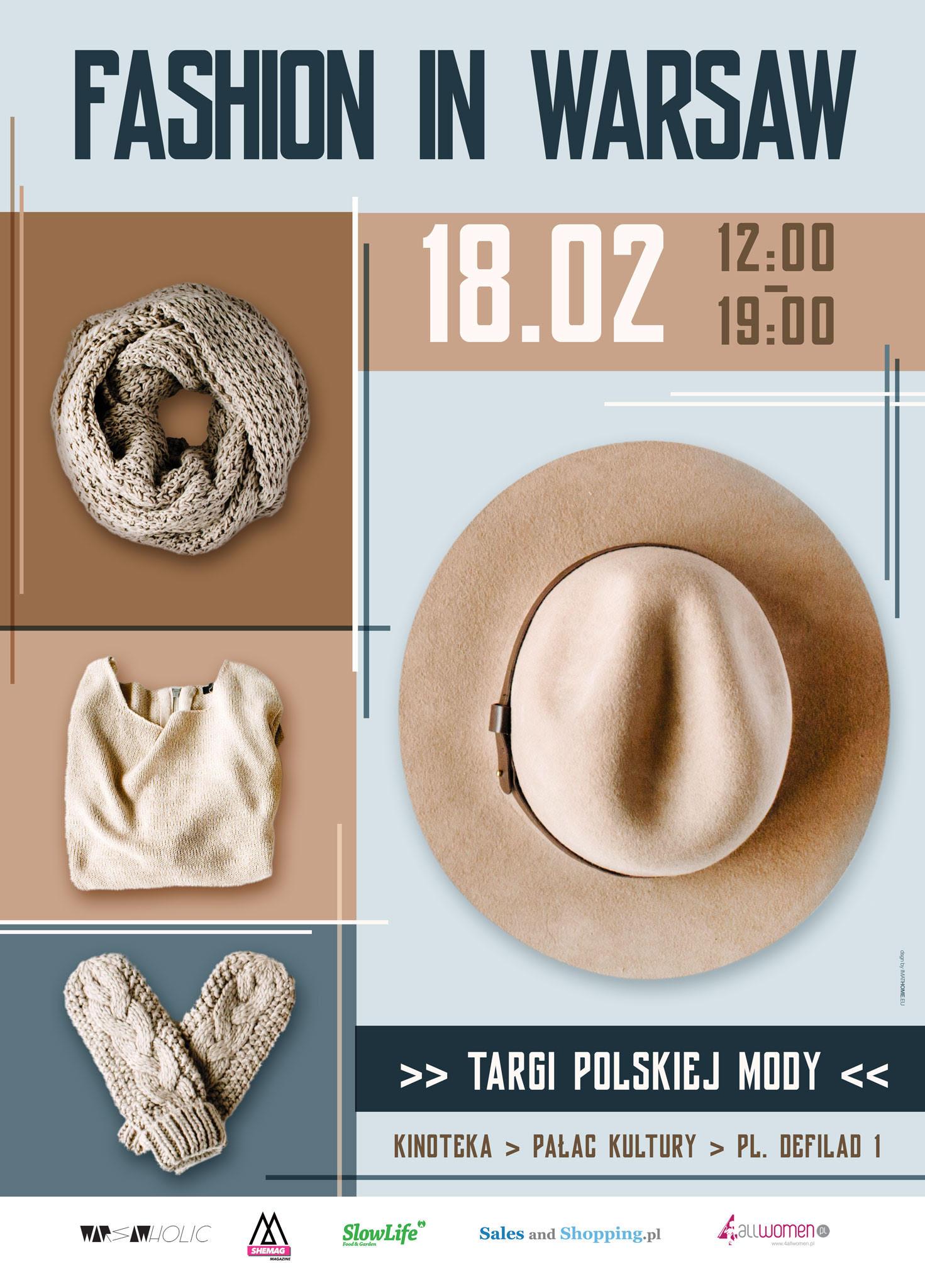 Targi Mody Fashion in Warsaw 18 lutego 2017