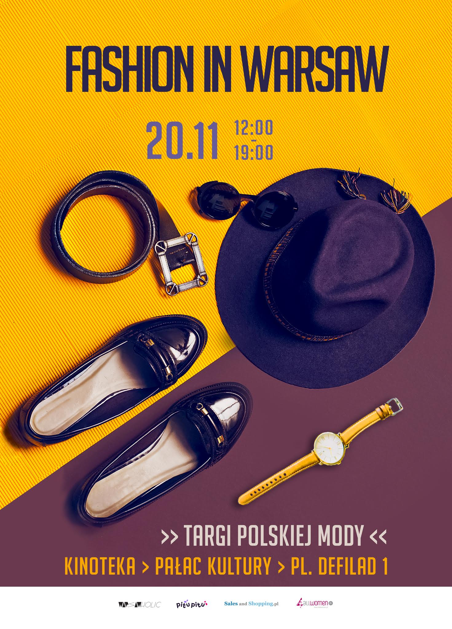 Targi Mody Fashion in Warsaw 20 listopada 2016