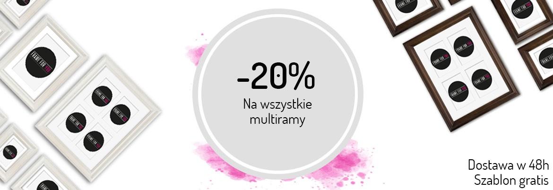 Feeby: 20% zniżki na wszystkie multiramy