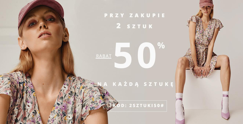 Femestage Eva Minge Femestage Eva Minge: 50% zniżki na odzież przy zakupie 2 sztuk