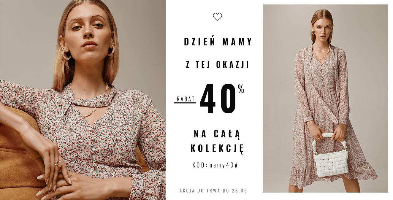 Femestage Eva Minge: 40% zniżki na całą kolekcję odzieży z okazji Dnia Mamy