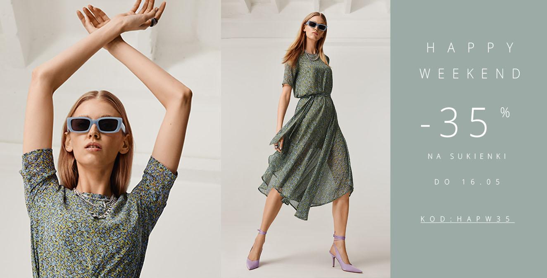 Femestage Eva Minge: 35% zniżki na sukienki - Happy Weekend