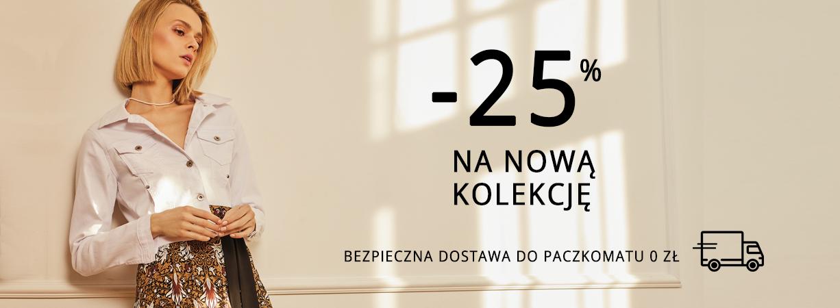 Femestage Eva Minge: 25% rabatu na nową kolekcję odzieży damskiej