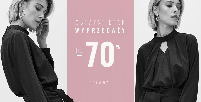 Femestage Eva Minge: wyprzedaż do 70% rabatu na odzież damską - ostatni etap wyprzedaży