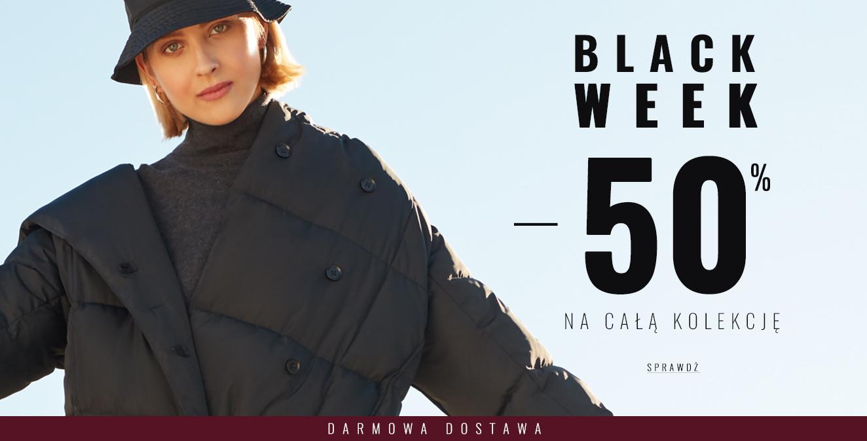 Femestage Eva Minge: Black Week 50% zniżki na całą kolekcję odzieży damskiej