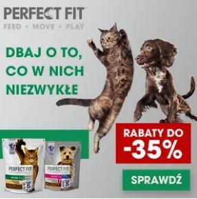 Fera: do 35% zniżki na karmy dla zwierząt Perfect Fit