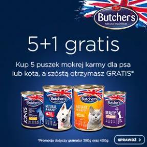 Fera: kup 5 puszek mokrej karmy dla psa lub kota, a szóstą otrzymasz GRATIS