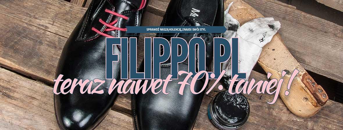Filippo: nawet 70% rabatu na obuwie