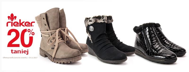 Filippo: 20% zniżki na obuwie marki Rieker