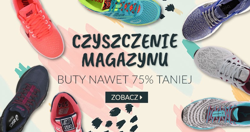FitnessTrening.pl: do 75% rabatu na buty sportowe