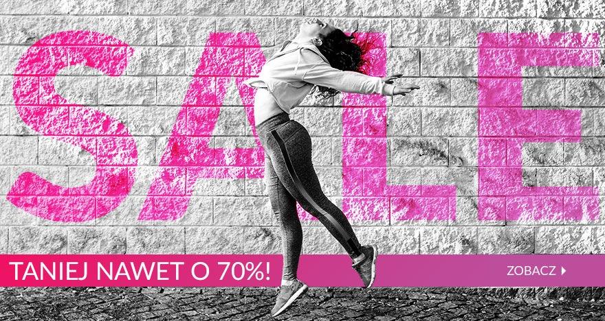 FitnessTrening.pl: wyprzedaż do 70% zniżki na odzież, obuwie i akcesoria sportowe