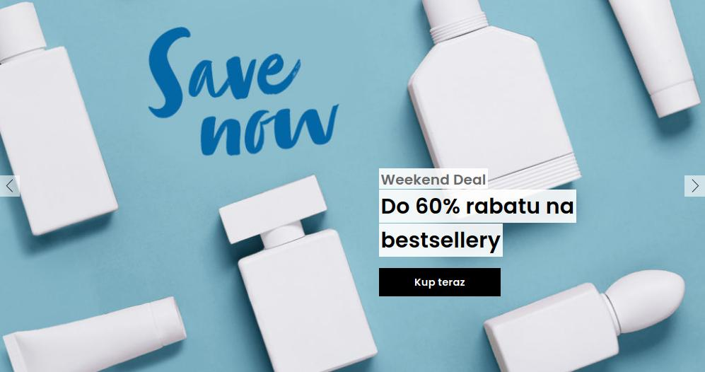 Flaconi Flaconi: do 60% rabatu na bestsellery kosmetyków i perfumów - Weekend Deal