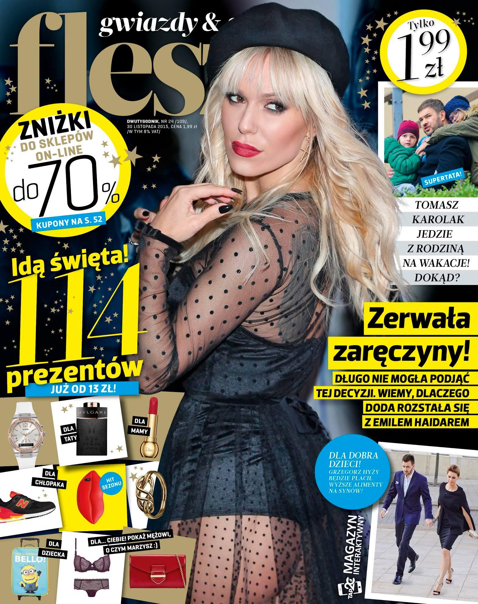 Kupony rabatowe w magazynie Flesz Gwiazdy & Styl w całej Polsce                         title=