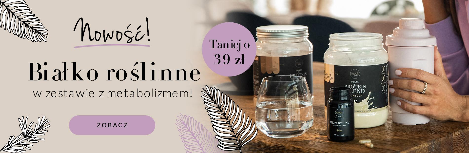 Foods by Ann: białko roślinne taniej o 39 zł