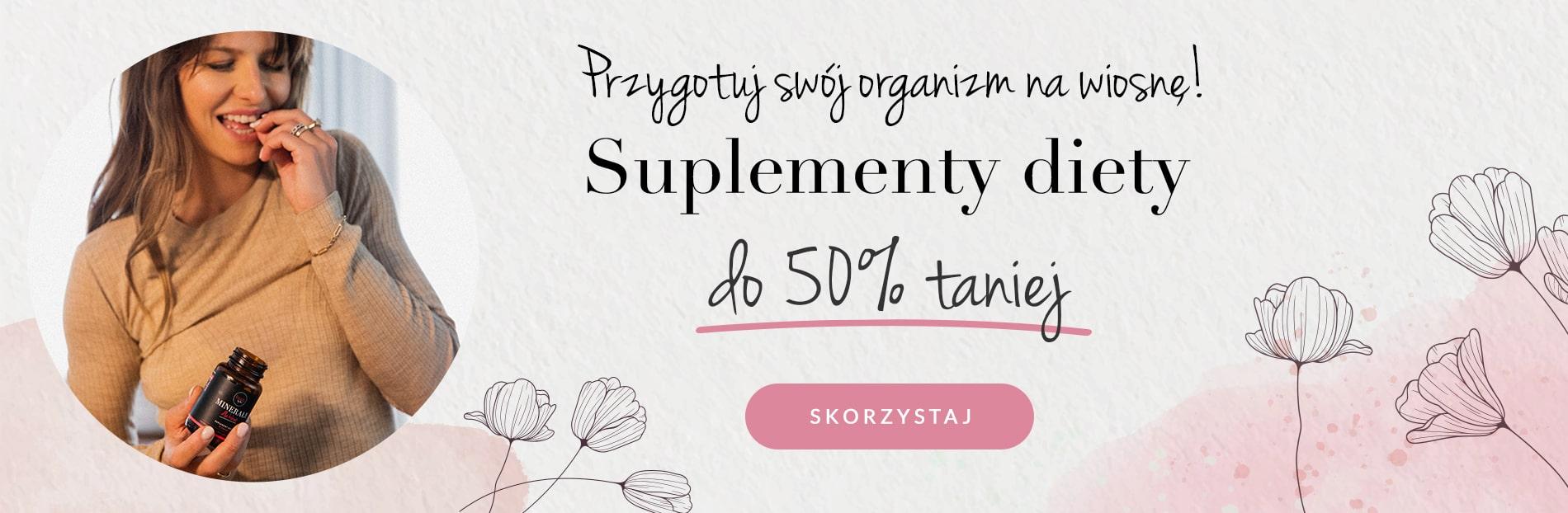 Foods by Ann: do 50% zniżki na suplementy diety