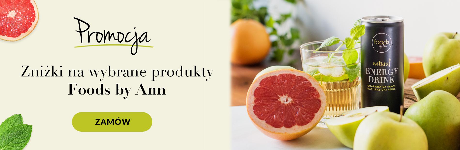 Foods by Ann Foods by Ann: do 50% rabatu na wybrane produkty - zdrowa żywność